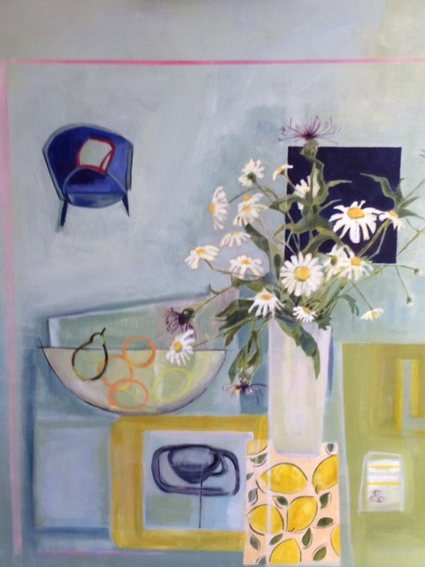 still life painting by Karen Stone